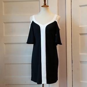 Cynthia Steffe Cold Shoulder Dress, Size 4